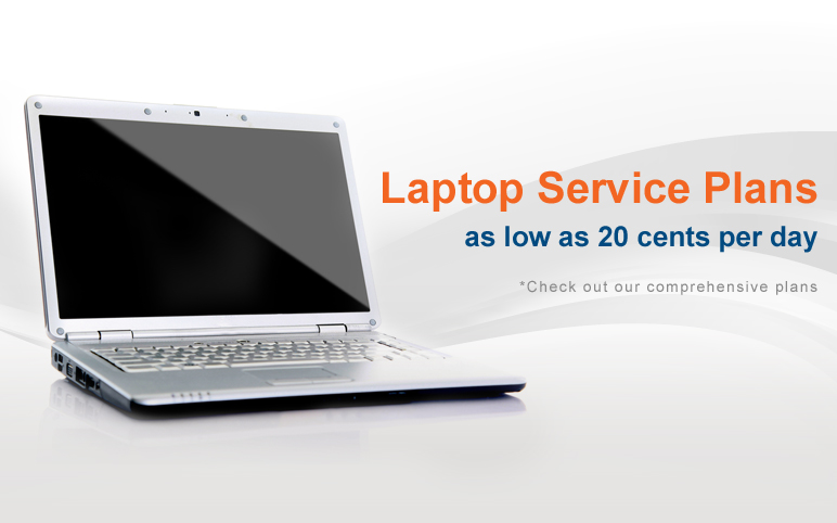 Laptop sevice plans as low 20 cents per day