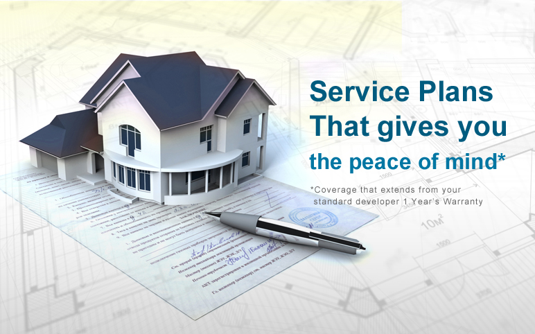 Service plans that gives you the peace of mind